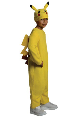 Click Here to buy Kids Deluxe Pikachu Costume from HalloweenCostumes, CDN Funds