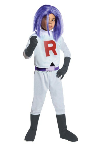 Click Here to buy Kids James Team Rocket Costume from HalloweenCostumes, USA Funds & Shipping