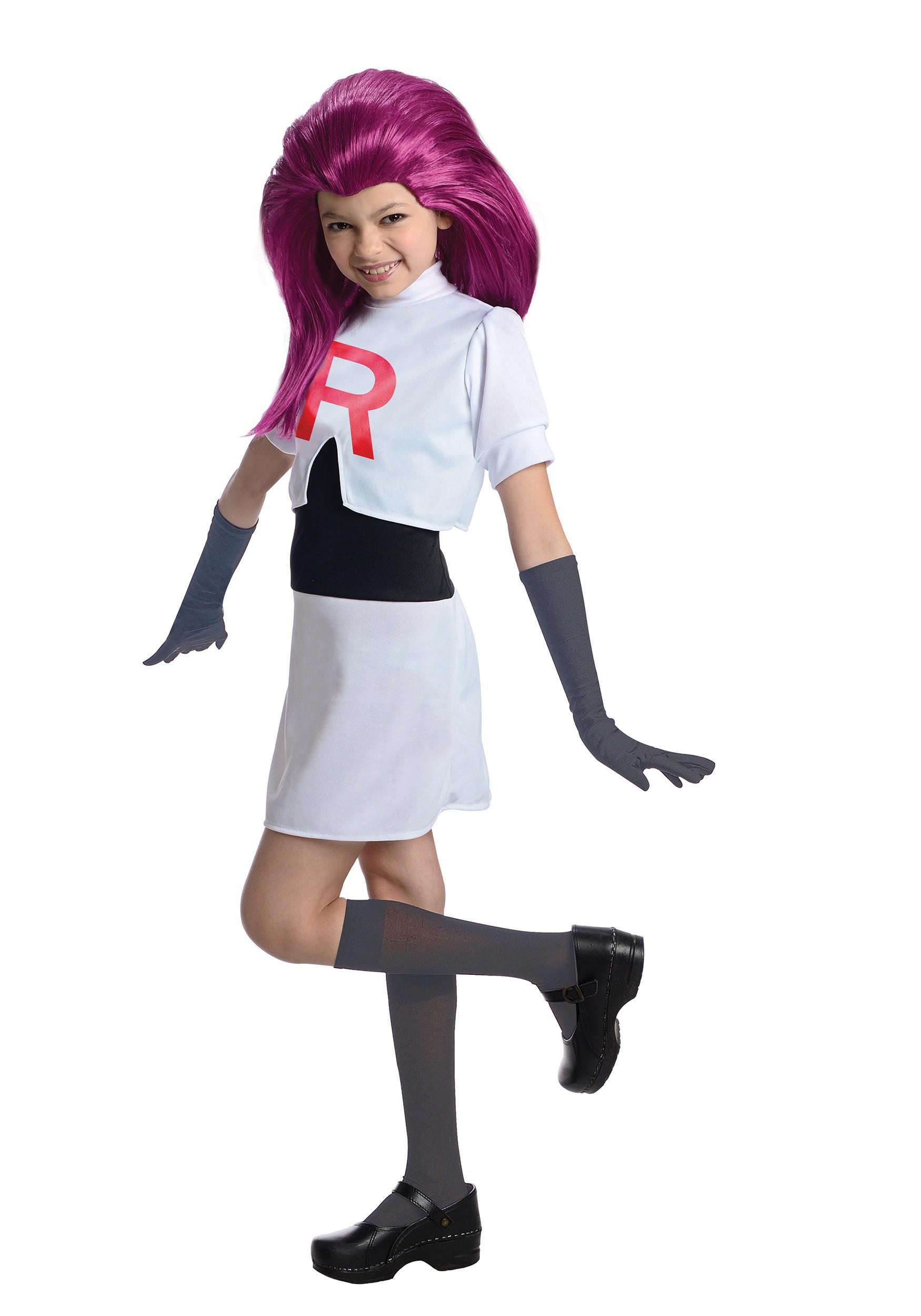 Team Rocket Jessie Kids Costume