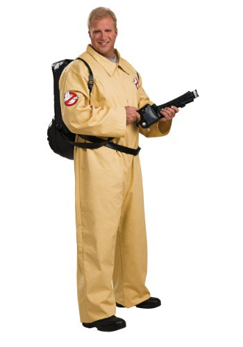 Click Here to buy Plus Size Deluxe Ghostbusters Costume from HalloweenCostumes, USA Funds & Shipping
