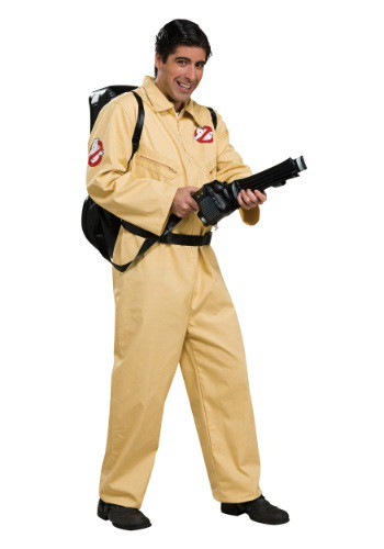 Click Here to buy Adult Deluxe Ghostbusters Costume from HalloweenCostumes, USA Funds & Shipping