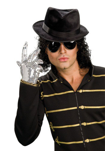 Adult Michael Jackson Sequined Glove By: Rubies Costume Co. Inc for the 2015 Costume season.