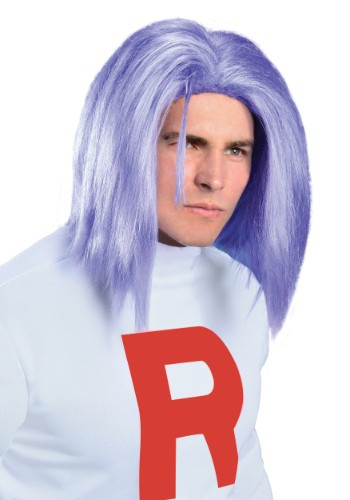 Click Here to buy Adult James Team Rocket Wig from HalloweenCostumes, CDN Funds