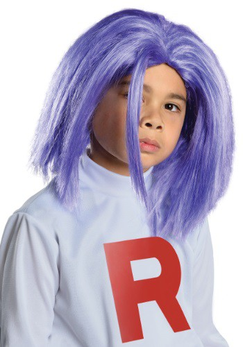 Click Here to buy Kids James Team Rocket Wig from HalloweenCostumes, USA Funds & Shipping