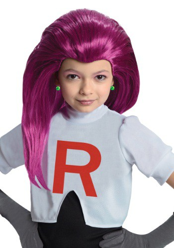Click Here to buy Kids Jessie Team Rocket Wig from HalloweenCostumes, USA Funds & Shipping
