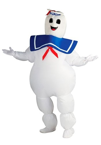 Plus Size Ghostbusters Stay Puft Costume Update 1