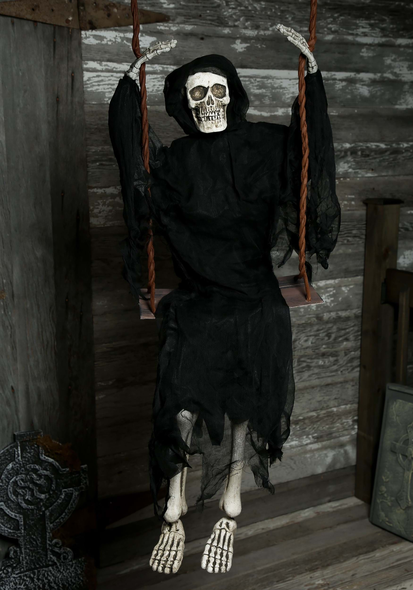 60 swinging reaper prop - Where can i buy halloween decorations ...