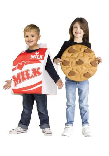 Child Cookies and Milk Costume