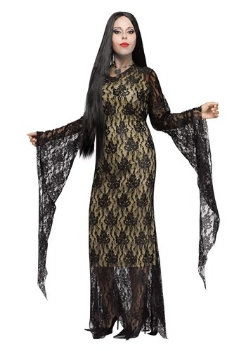 Plus Size Miss Darkness Costume1