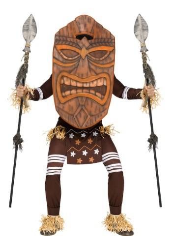 Adult Tiki Warrior Costume