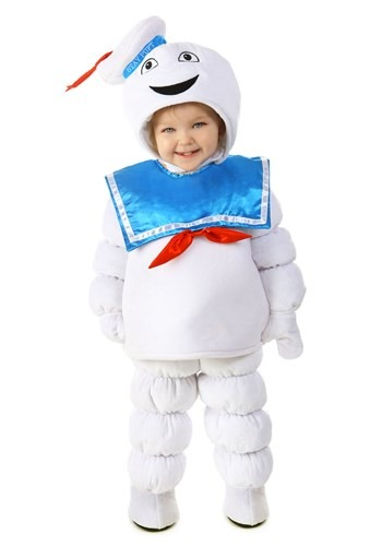 Click Here to buy Kids Ghostbusters Deluxe Stay Puft Costume from HalloweenCostumes, USA Funds & Shipping