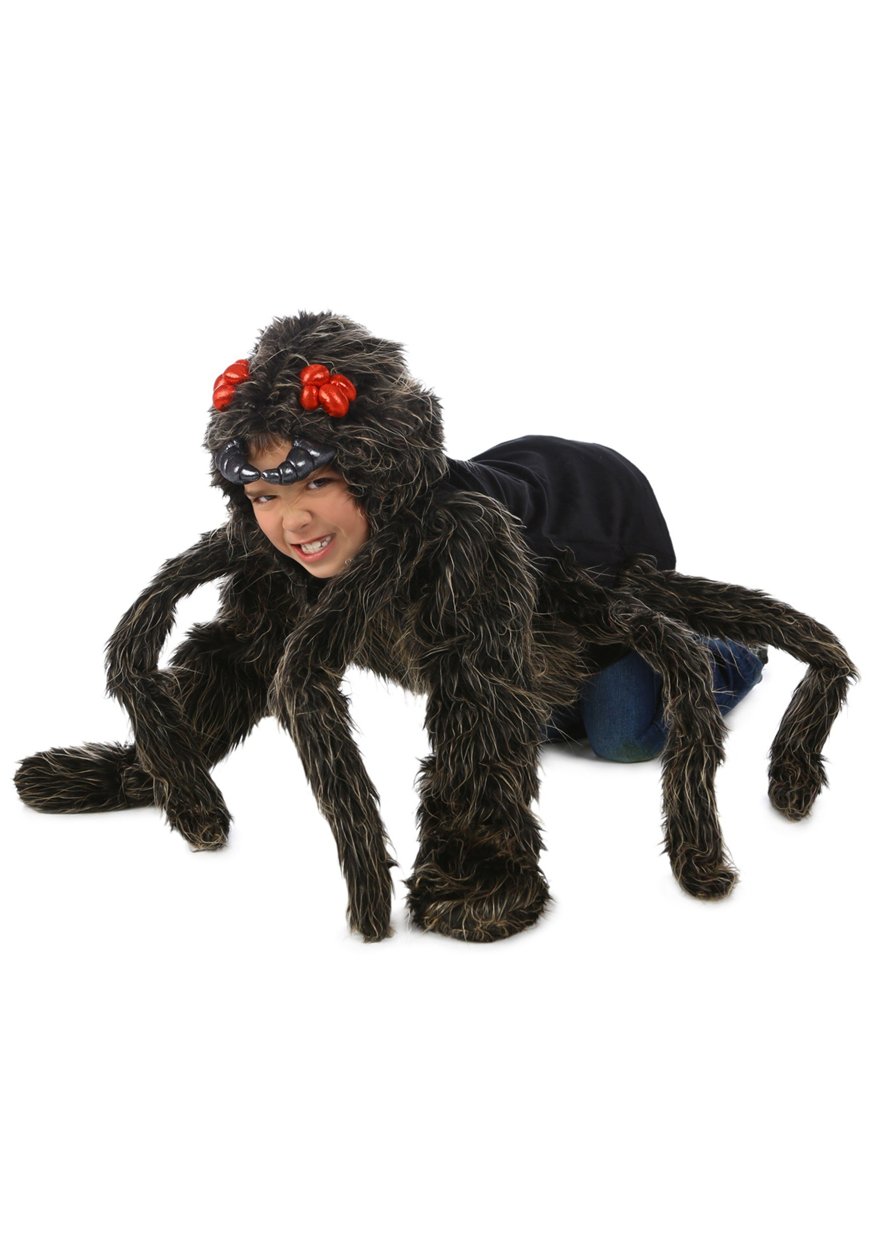 Child Tarantula Hoodie  sc 1 st  Halloween Costumes 2018 at CostumeVip.com | Halloween Costume Ideas 2018 & Spider Costumes