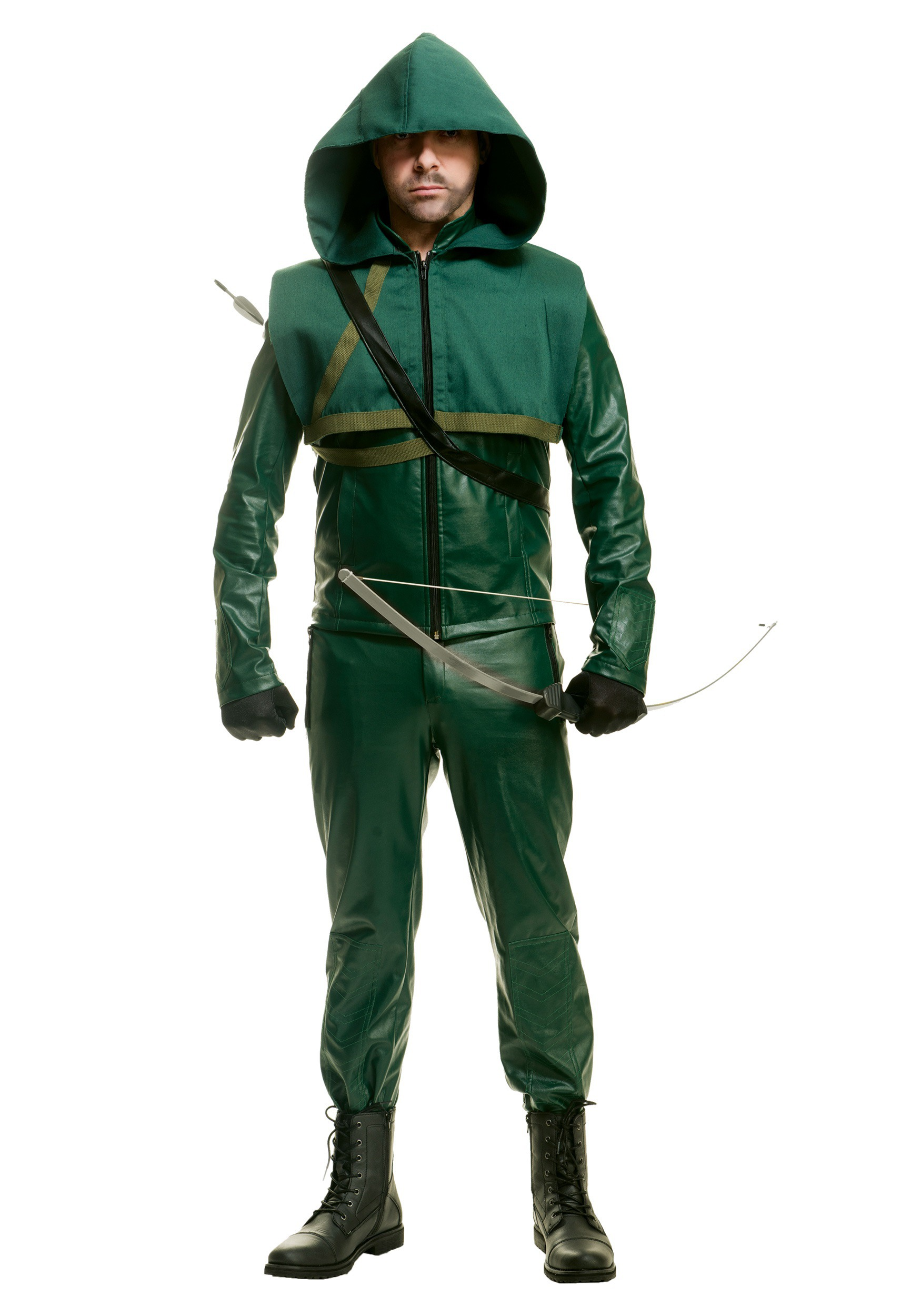 Mens Premium Arrow Costume  sc 1 st  Halloween Costumes & Menu0027s Premium Arrow Costume