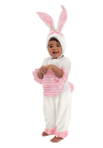 Image of Toddler Zoey the Bunny Costume