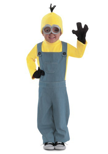Image of Child Minions Deluxe Bob Jumpsuit