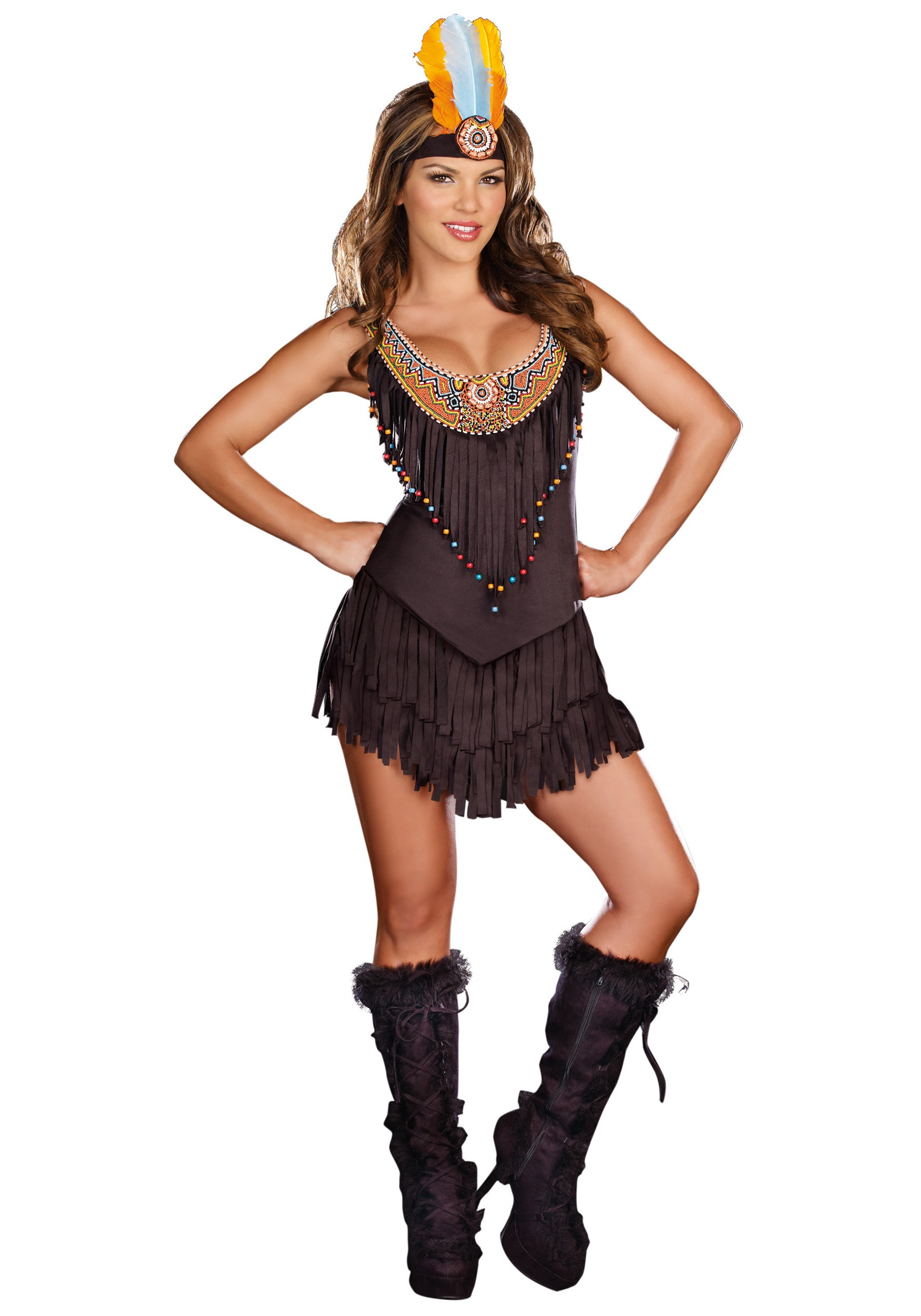 sexy native beauty costume - Native American Costume Halloween