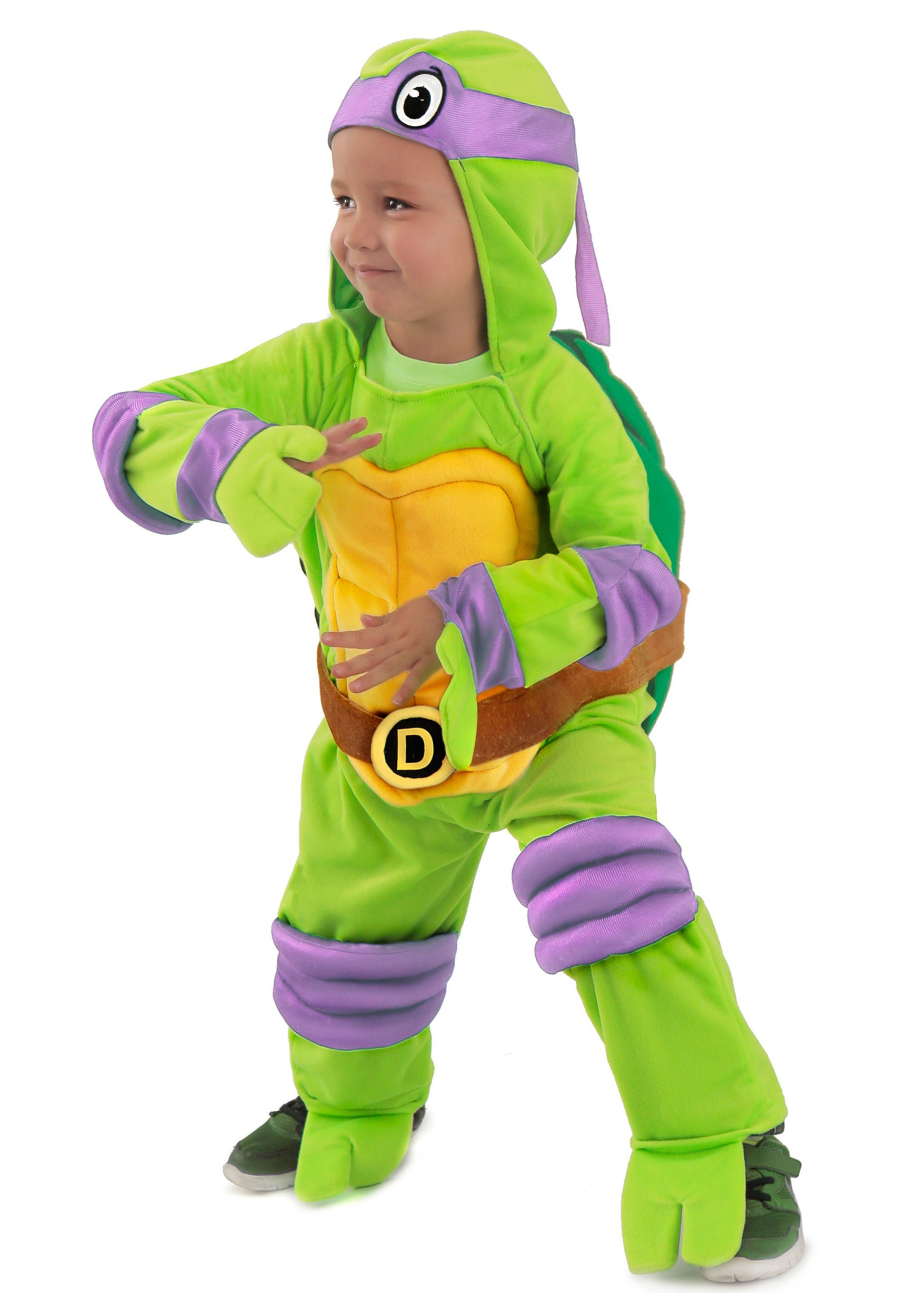 Child TMNT Donatello Deluxe Jumpsuit  sc 1 st  Halloween Costumes & Teenage Mutant Ninja Turtles Costumes - HalloweenCostumes.com