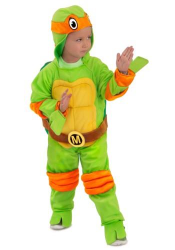 Image of Child TMNT Michelangelo Deluxe Jumpsuit