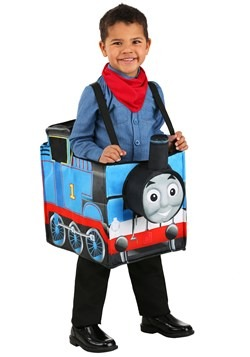 Child Thomas the Train Ride in Costume New
