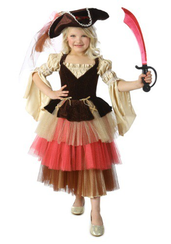 Diy Baby Girl Pirate Costume Child's Audrey the Pir...