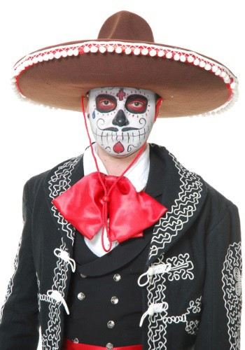 Image of Adult Brown Mariachi Sombrero