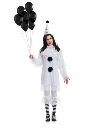 Click Here to buy Womens Heartbroken Clown Costume from HalloweenCostumes, CDN Funds