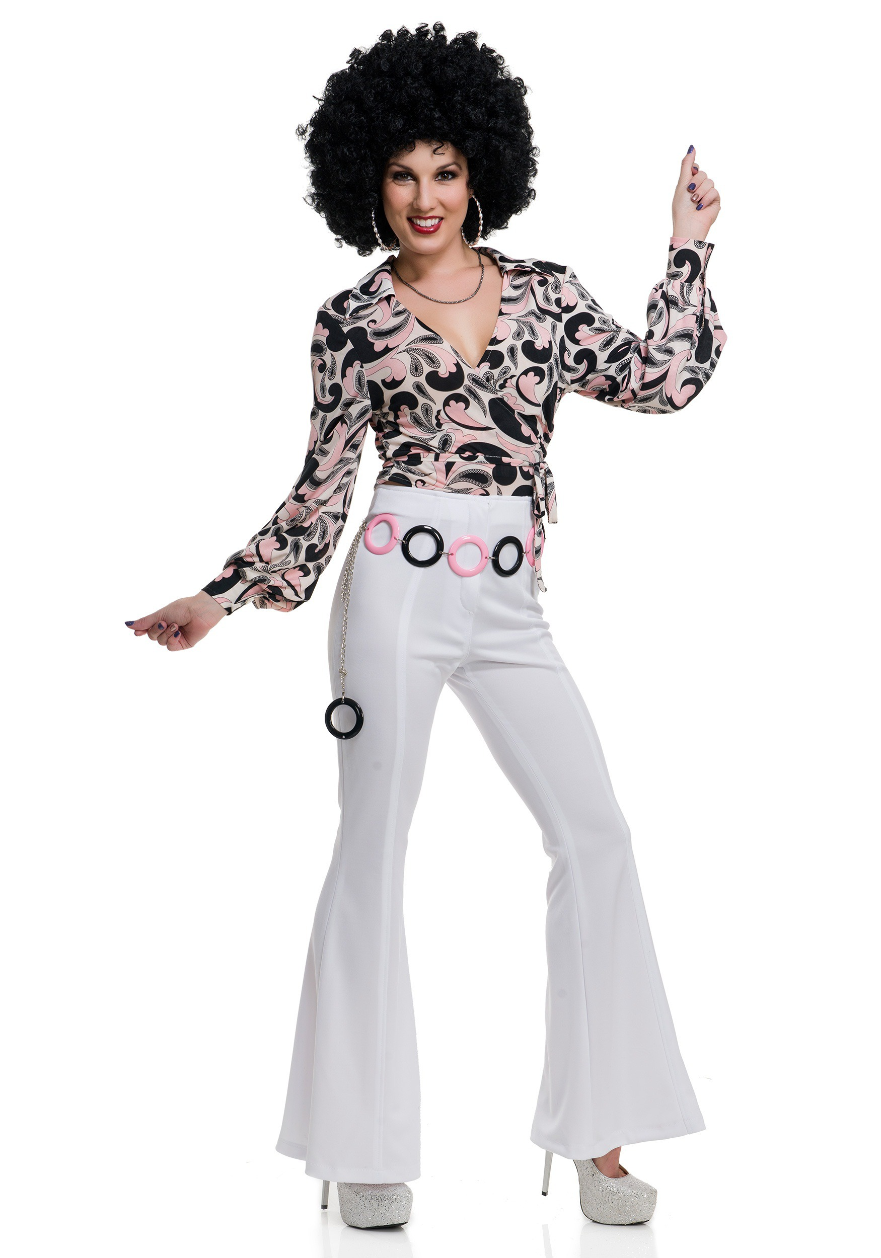 c5918e51 Disco Dance Costumes & Dresses for Adults - HalloweenCostumes.com