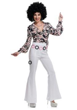 Women's White Disco Pants