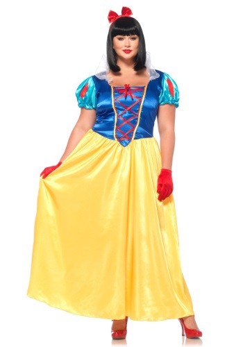 Click Here to buy Plus Size Classic Snow White Costume 1X/2X 3X/4X 5X from HalloweenCostumes, CDN Funds