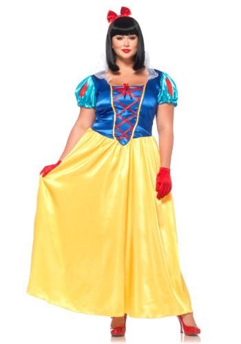 Plus Size Classic Snow White Costume