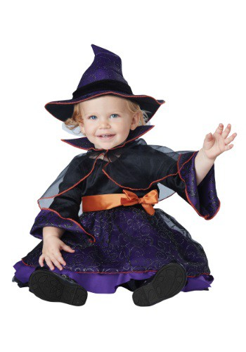 Click Here to buy Baby Hocus Pocus Witch Costume from HalloweenCostumes
