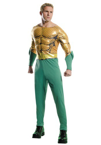 Men's Aquaman Costume RU810787-L