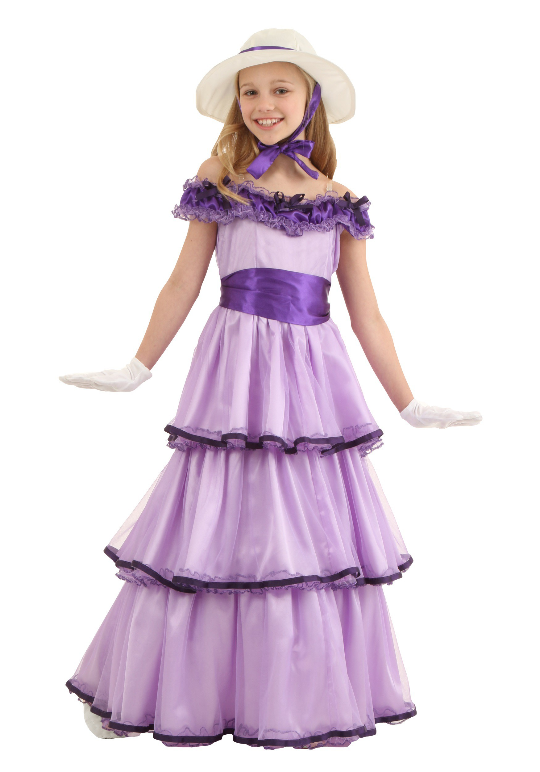 sc 1 st  Halloween Costumes & Child Deluxe Southern Belle Costume