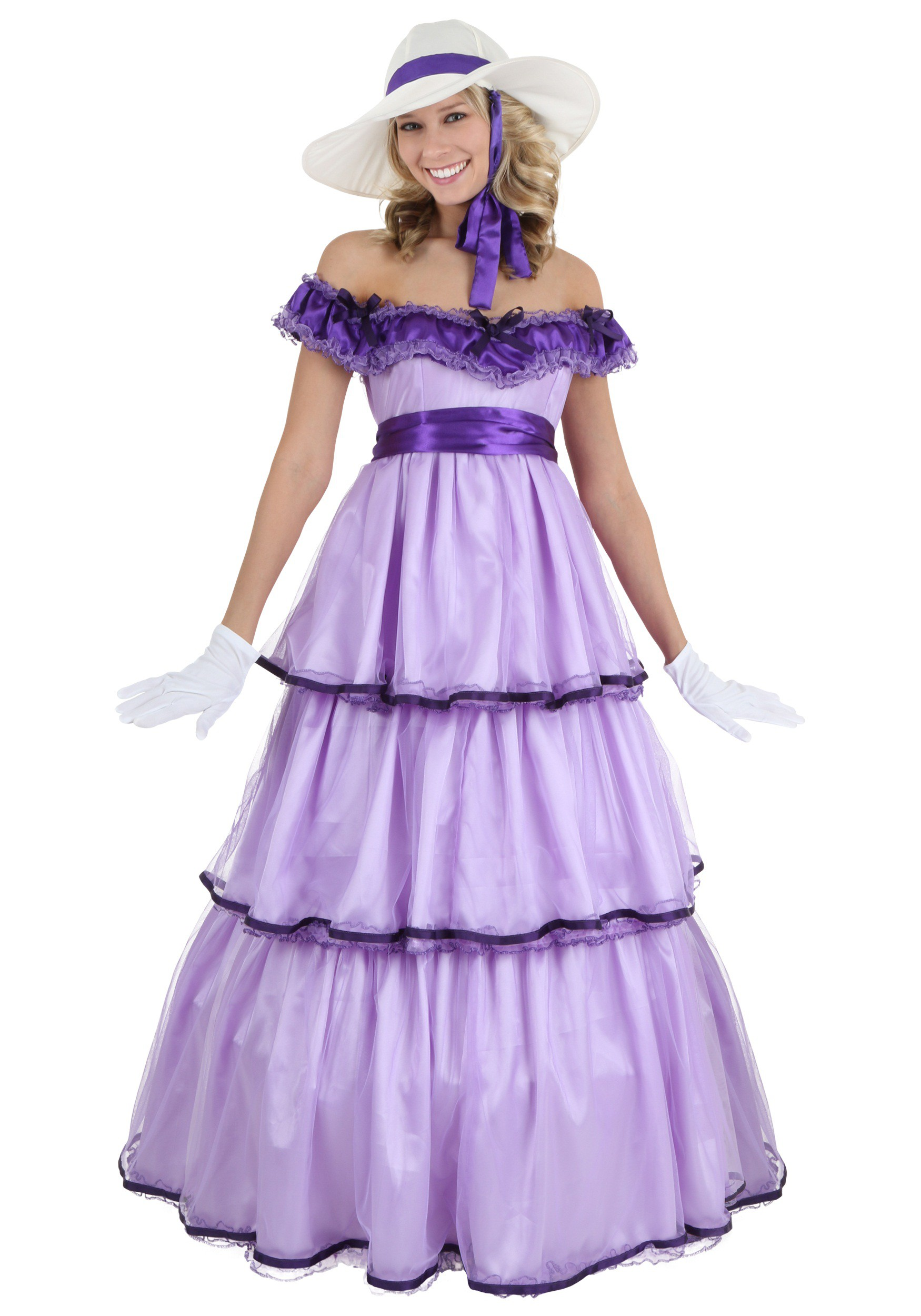 belle adult costume Southern