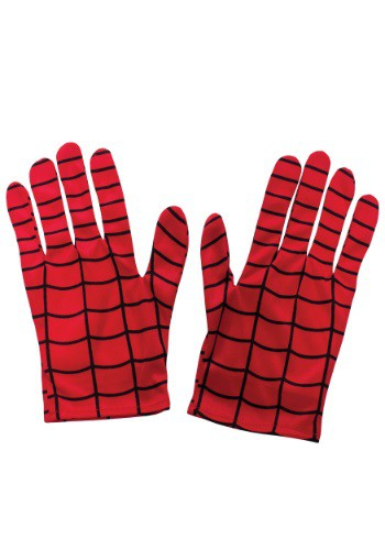 Click Here to buy Kids Spider-Man Gloves from HalloweenCostumes, USA Funds & Shipping