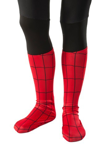 Child Spider-Man Boot Covers By: Rubies Costume Co. Inc for the 2015 Costume season.