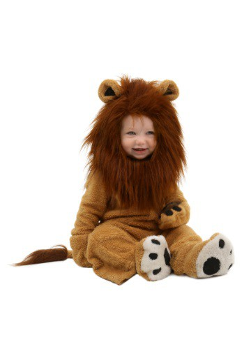 Click Here to buy Baby Deluxe Lion Costume from HalloweenCostumes, USA Funds & Shipping