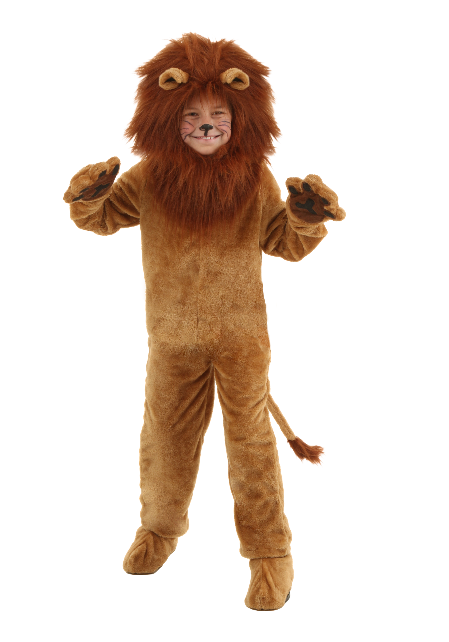 Wonderful wizard of oz costumes halloweencostumes child deluxe lion costume made by usexclusive solutioingenieria Images