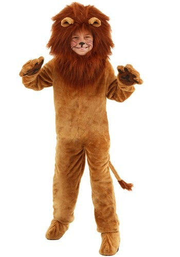 Lion Kids Deluxe Costume