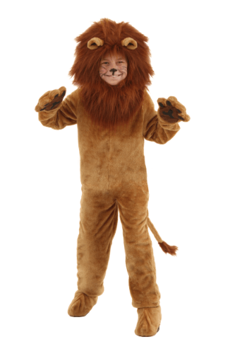 Image  Child Deluxe Lion Costume