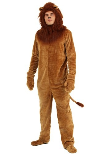 Image  Adult Deluxe Lion Costume