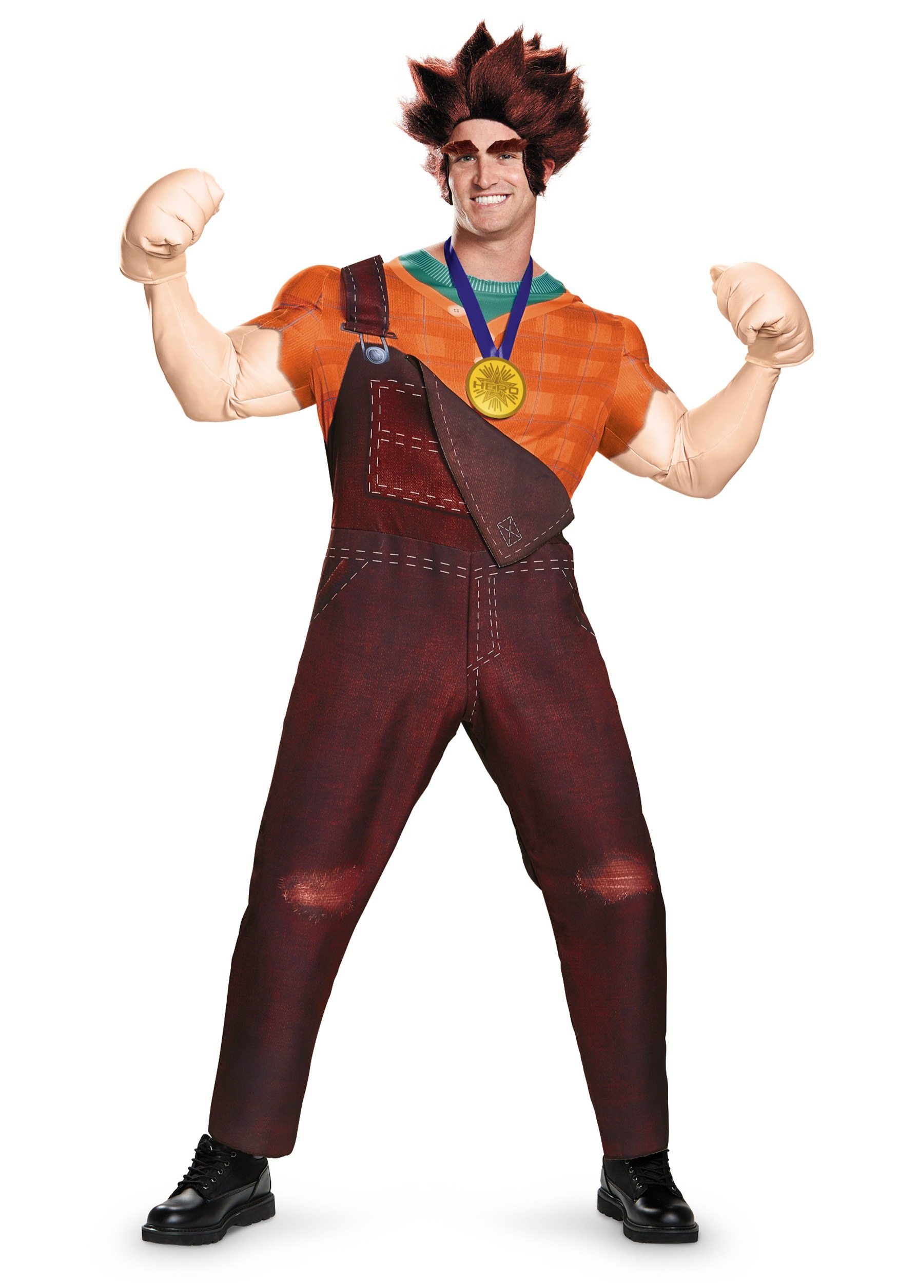 adult deluxe wreck it ralph costume - Cheapest Place To Buy Halloween Costumes