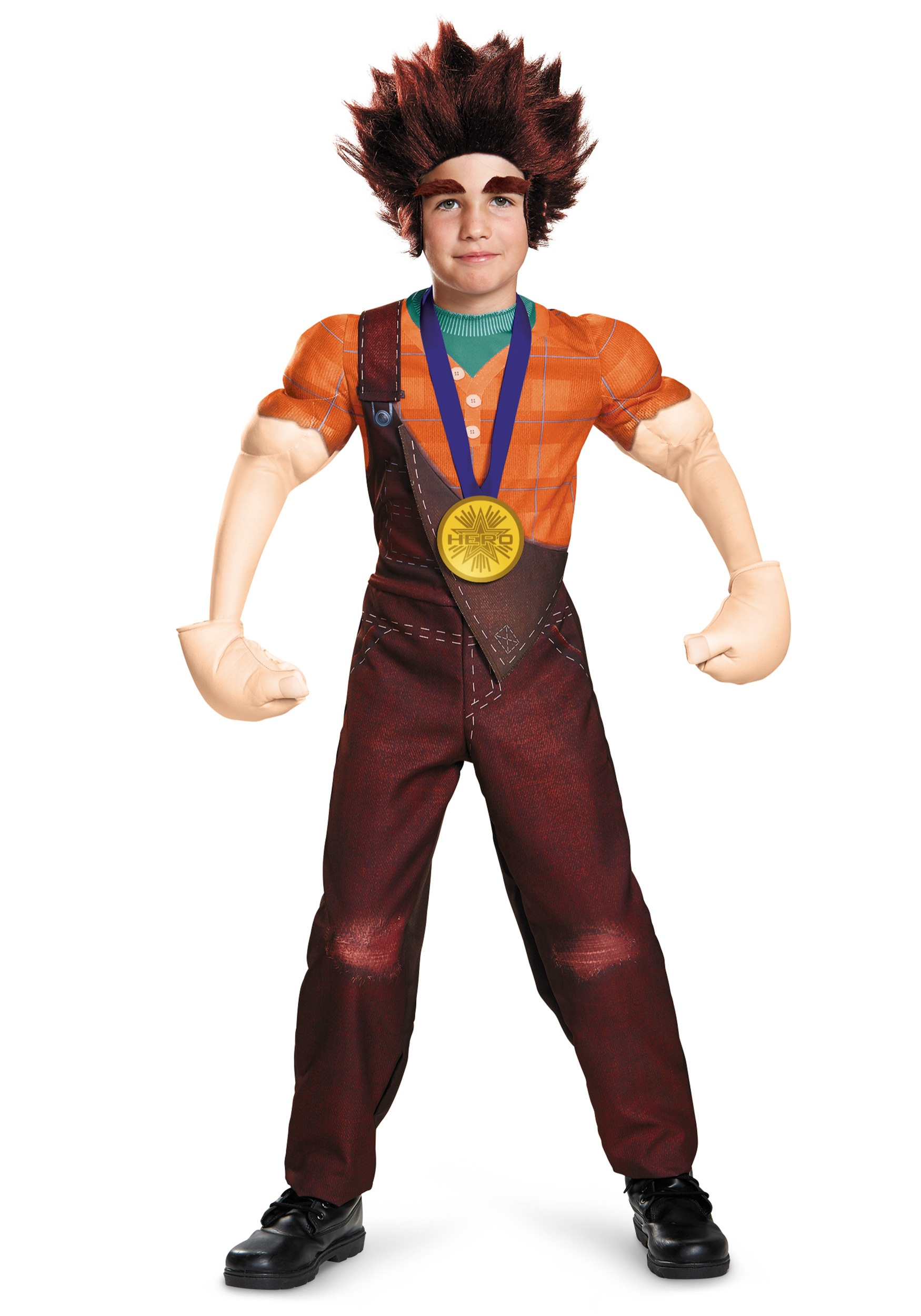 Child Deluxe Wreck It Ralph Costume  sc 1 st  Halloween Costumes : disney goofy costume for kids  - Germanpascual.Com