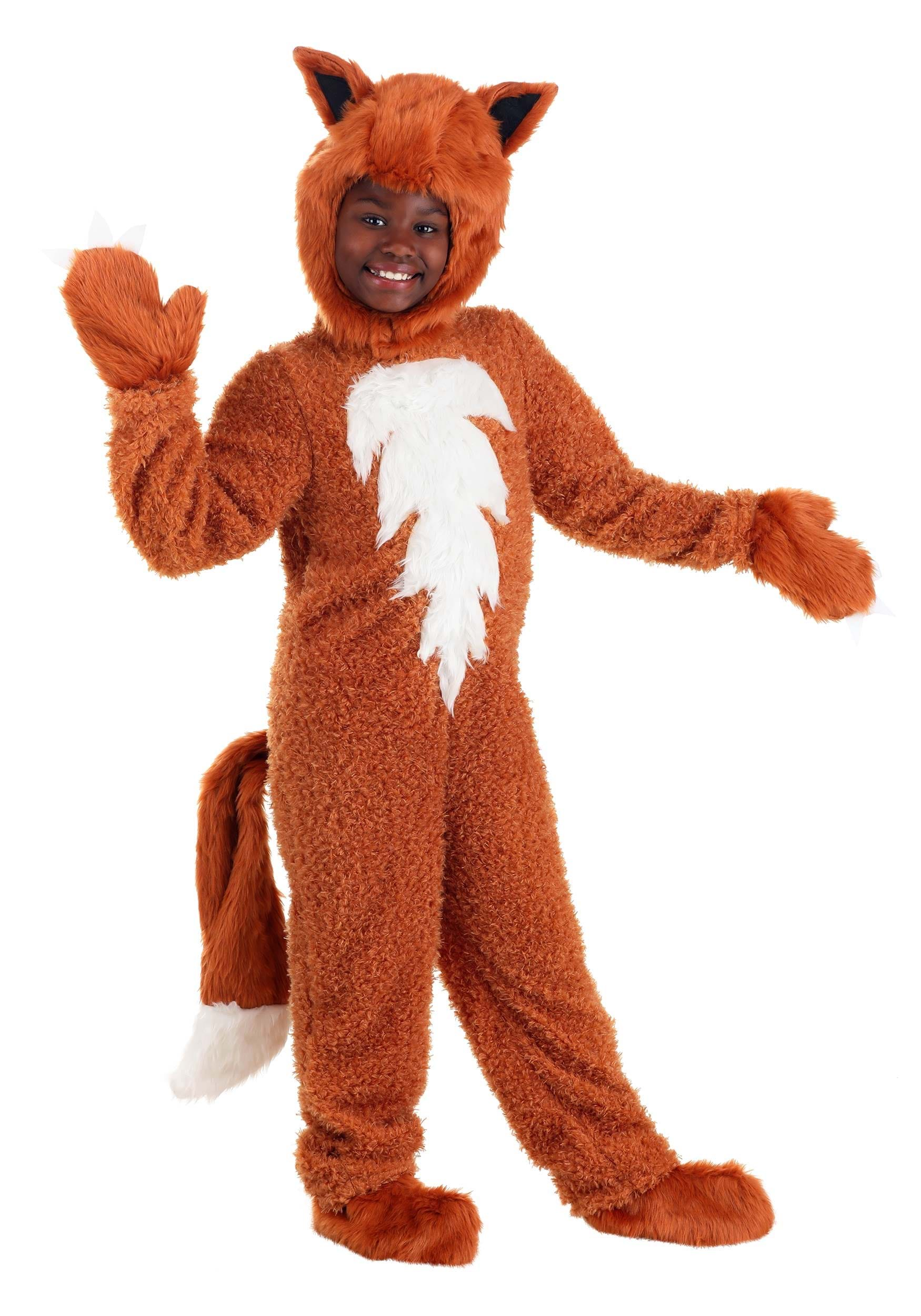 sc 1 st  Halloween Costumes & Child Fox Costume