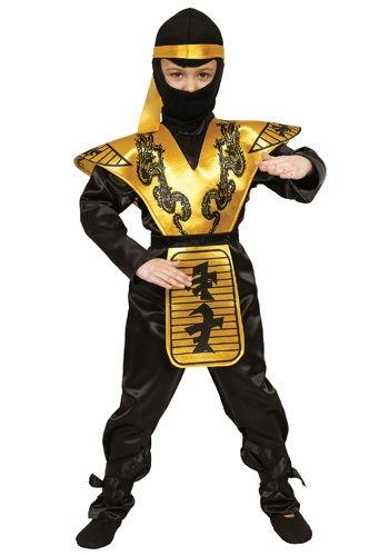 Click Here to buy Boys Mortal Ninja Costume from HalloweenCostumes, CDN Funds