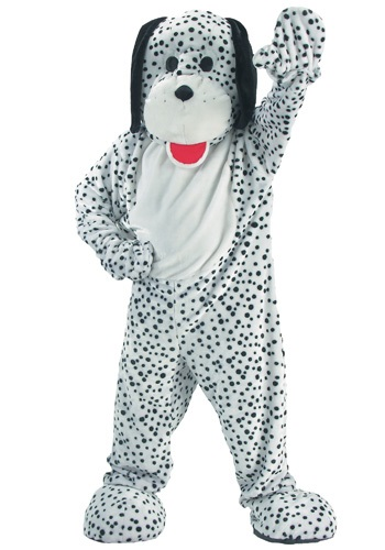 Click Here to buy Dalmatian Dog Mascot Costume from HalloweenCostumes, CDN Funds
