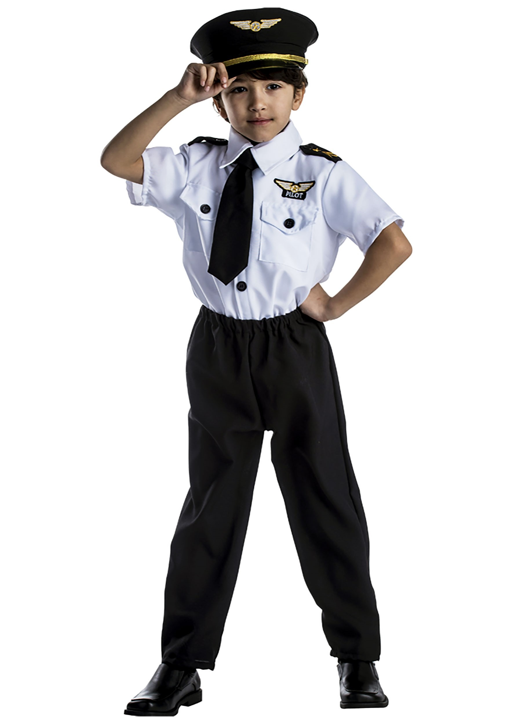 Kids Pilot Costume  sc 1 st  Halloween Costumes & Pilot Costume For Child