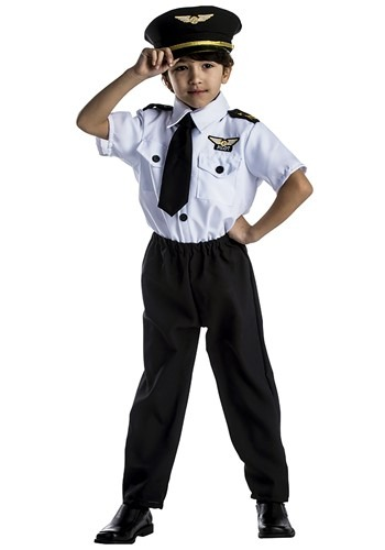 Kids Pilot Costume By: Dress Up America for the 2015 Costume season.