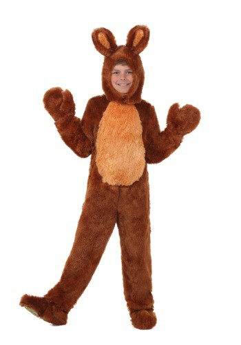 Brown Bunny Costume for Kids