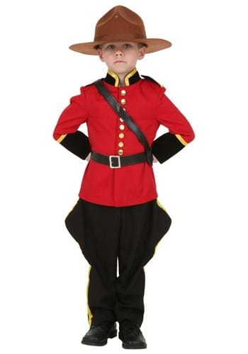 Toddler RCMP Canadian Mountie Costume